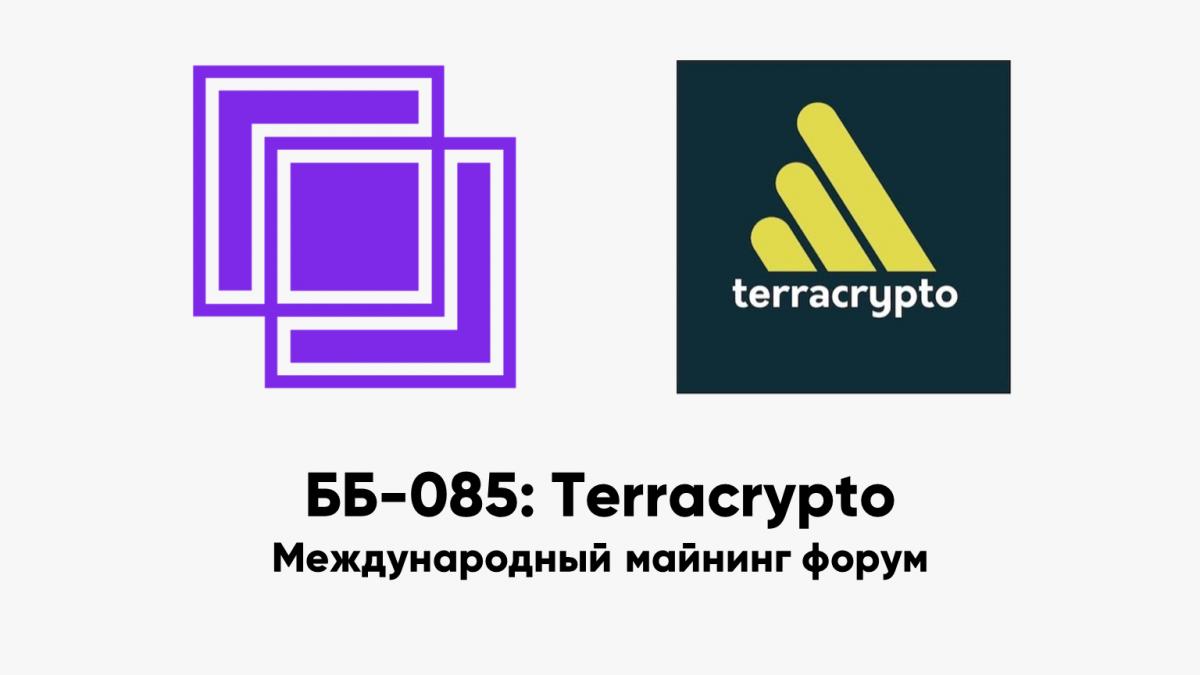 ББ-085: Terracrypto — международный майнинг форум